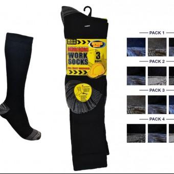 Mens 3pk Erbro™ LongHose Ultimate Work Sock
